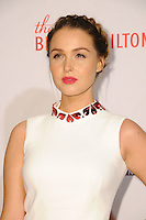 15 April 2016 - Beverly Hills, California - Camilla Luddington. Arrivals for the 23rd Annual Race To Erase MS Gala held at Beverly Hilton Hotel. Photo Credit: Birdie Thompson/AdMedia