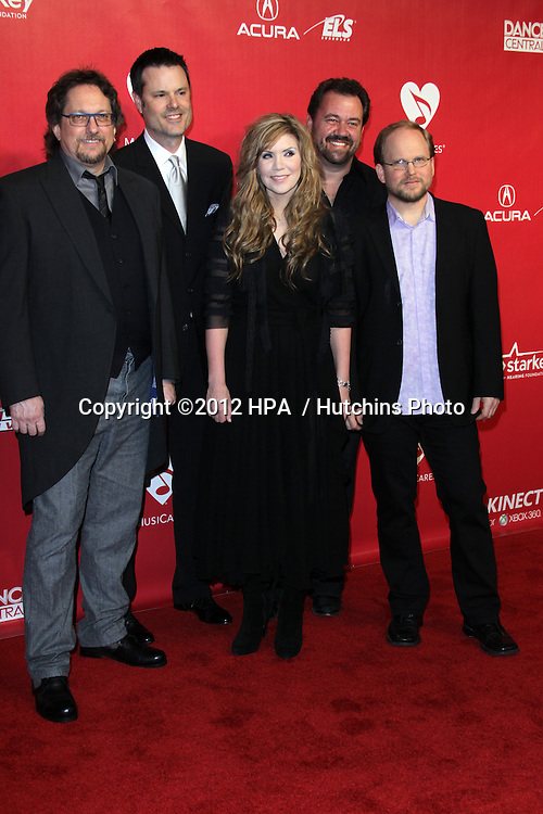 LOS ANGELES - FEB 10:  Alison Krauss arrives at the 2012 MusiCares Gala honoring Paul McCartney at LA Convention Center on February 10, 2012 in Los Angeles, CA