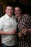 Andrew Meegan and James McCullough joint 21st in The Rugby Club..Photo NEWSFILE/Jenny Matthews.(Photo credit should read Jenny Matthews/NEWSFILE)....This Picture has been sent you under the condtions enclosed by:.Newsfile Ltd..The Studio,.Millmount Abbey,.Drogheda,.Co Meath..Ireland..Tel: +353(0)41-9871240.Fax: +353(0)41-9871260.GSM: +353(0)86-2500958.email: pictures@newsfile.ie.www.newsfile.ie.FTP: 193.120.102.198.