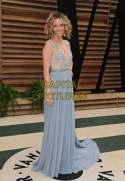 WEST HOLLYWOOD, CA - MARCH 2: Keltie Knight arrives at the 2014 Vanity Fair Oscar Party in West Hollywood, California on March 2, 2014. <br /> CAP/MPI/MPI213<br /> &copy;MPI213 / MediaPunch/Capital Pictures