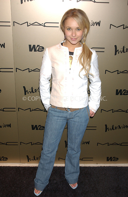 WWW.ACEPIXS.COM . . . . . ....NEW YORK, FEBRUARY 10, 2005....Hayden Panettiere at the Zac Posen after party.....Please byline: KRISTIN CALLAHAN - ACE PICTURES.. . . . . . ..Ace Pictures, Inc:  ..Philip Vaughan (646) 769-0430..e-mail: info@acepixs.com..web: http://www.acepixs.com
