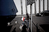 Krakow 18/04/2010 Poland<br /> People mourning the tragic death of President Lech Kaczynski and his wife in Krakow before funeral.<br /> on pictures: A woman with a Polish flag before the procession.<br /> Photo: Adam Lach / Napo Images for The New York Times<br /> <br /> Zaloba po tragicznej smierci Prezydenta Lecha Kaczynskiego i jego malzonki w Krakowie przed pogrzebem.<br /> Fot: Adam Lach / Napo Images for The New York Times