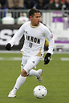 13 December 2009: Akron's Anthony Ampaipitakwong. The University of Akron Zips played the University of Virginia Cavaliers at WakeMed Soccer Stadium in Cary, North Carolina in the NCAA Division I Men's College Cup Championship game.