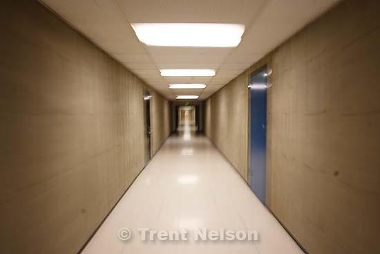 Salt Lake City - in the halls of the HFER, University of Utah.