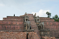 Nepal, Bhaktapur. Earthquake damage 2015