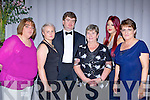 Having fun at the Kerry Stars black tie ball in the Malton Hotel on Friday night l-r: Suzanne Scully, Diane Horgan, Roger McCarthy, Kathleen McCarthy, Aisling Madigan and Rosaria O'Leary