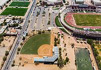 Vista aerea de Complejo deportivo de la Comisión Estatal de Deporte, CODESON en Hermosillo, Sonora....<br /> Estadio Héroe de Nacozari. <br /> CUM. <br /> Estadio de béisbol Estadio Fernando M. Ortiz<br /> Campos Deportivos de la Liga Oxxo.<br /> Boulevard o calle Periferico Norte<br /> <br /> <br /> Photo: (NortePhoto / LuisGutierrez)<br /> <br /> ...<br /> keywords: