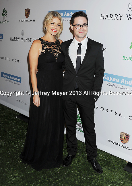 CULVER CITY, CA- NOVEMBER 09: TV personalty Ali Fedotowsky (L) and Kevin Manno arrive at the 2nd Annual Baby2Baby Gala at The Book Bindery on November 9, 2013 in Culver City, California.