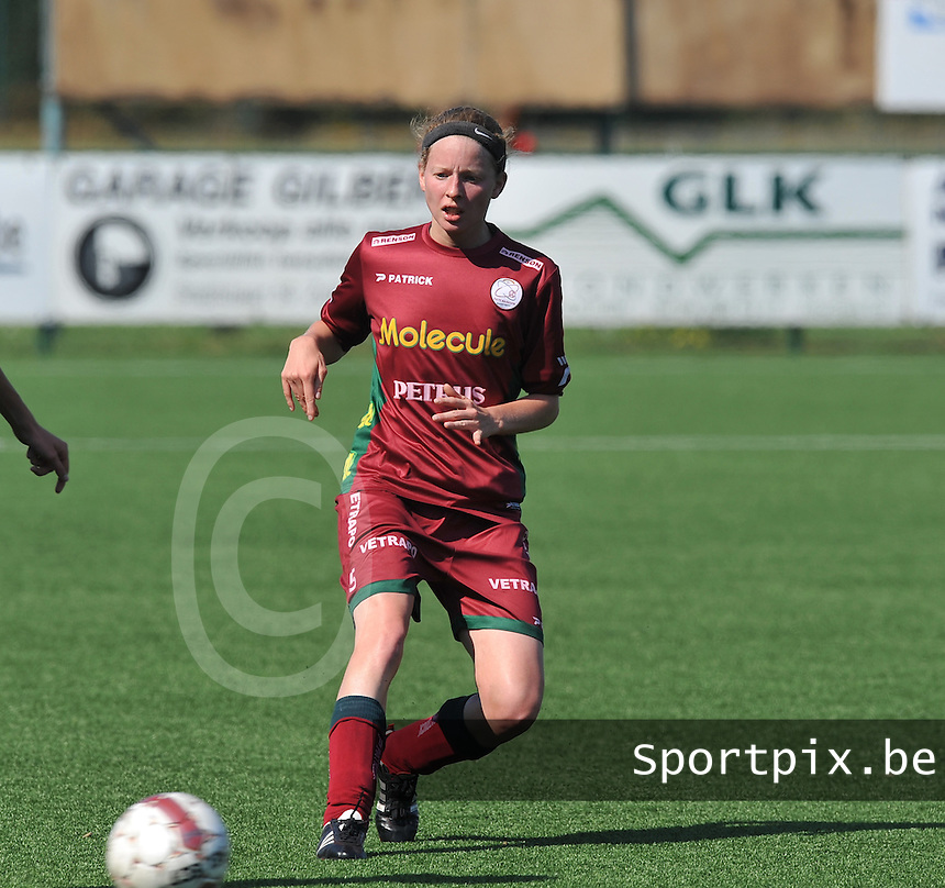 Dames Zulte - Waregem : Francoise Delcoigne.foto DAVID CATRY  / Vrouwenteam.be.