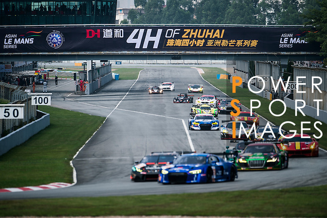 Race cars in action during 2016-2017 Asian Le Mans Series Round 1 at Zhuhai Circuit on 30 October 2016, Zhuhai, China.  Photo by Marcio Machado / Power Sport Images