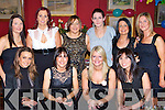 Rachel Guerin Park Road, Killarney celebrated her 30th birthday with her family and friends in the Bricin restaurant, Killarney Saturday night front row l-r: Josie McCannon, Patricia McCarthy, Rachel Guerin, Tara McCarthy. Back row: Carla O'Neill, Aisling O'Donoghue, Niamh O'Donoghue, Louise Devaney, Ina Moriarty and Noreen Bucth   Copyright Kerry's Eye 2008
