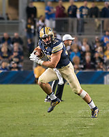 Pitt running back George Aston. The Pitt Panthers defeated the Marshall Thundering Herd 43-27 on October 1, 2016 at Heinz Field in Pittsburgh, Pennsylvania.