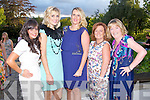 FUN: Enjoying a fun time at the Big Bus BBQ in aid of Kerry Cancer Support at the Ballygarry House hotel on Saturday l-r: Lorraine Counihan, Loretta Lawlor, Gillian Barrett, Geraldine Counihan and Brid O'Donnell.