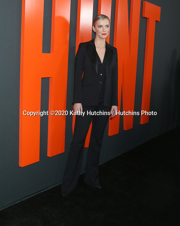"LOS ANGELES - MAR 9:  Betty Gilpin at the ""The Hunt"" Premiere at the ArcLight Hollywood on March 9, 2020 in Los Angeles, CA"