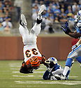 JAY FINLEY, of the Cincinnati Bengals in action during the Bengals game against the Detroit Lion on August 12, 2011 at Ford Field in Detroit, Michigan. The Lions beat the Bengals 34-3.