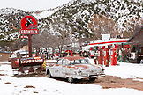 USA, New Mexico, Classic Gas Museum in Embudo