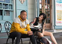 Cuba Gooding Jr. &amp; Famke Janssen.<br /> Bayou Caviar (2018) <br /> *Filmstill - Editorial Use Only*<br /> CAP/RFS<br /> Image supplied by Capital Pictures