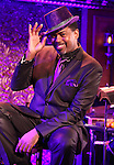 Lance Roberts performing a press preview at 54 Below on 10/24/2012 in New York City.