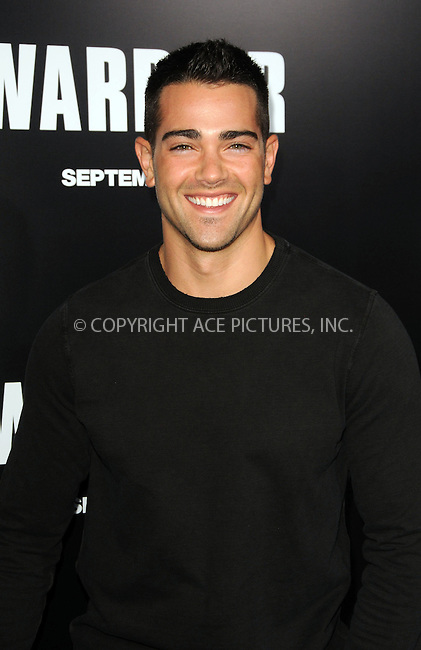 WWW.ACEPIXS.COM . . . . .  ....September 6 2011, LA....Jesse Metcalfe arriving at the premiere of 'Warrior' at the Arclight Hollywood on September 6, 2011 in Hollywood, California.....Please byline: PETER WEST - ACE PICTURES.... *** ***..Ace Pictures, Inc:  ..Philip Vaughan (212) 243-8787 or (646) 679 0430..e-mail: info@acepixs.com..web: http://www.acepixs.com