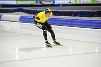 SCHAATSEN: HEERENVEEN: 02-11-2014, IJsstadion Thialf, NK Afstanden, Sven Kramer, ©foto Martin de Jong