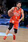 Valencia Basket's Sam Van Rosso during 2017 King's Cup match between Real Madrid and Valencia Basket at Fernando Buesa Arena in Vitoria, Spain. February 19, 2017. (ALTERPHOTOS/BorjaB.Hojas)