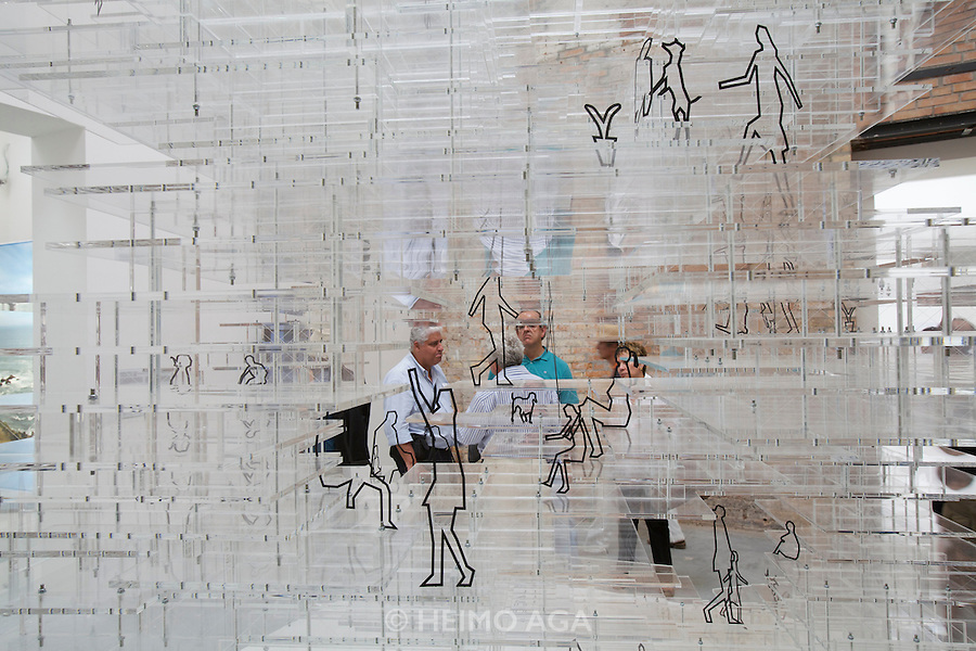 "12th Biennale of Architecture. Giardini. Biennale Pavillion. Sou Fujimoto Architects, Japan. ""Primitive Future House"", 2010."
