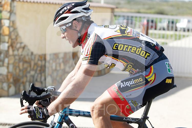 Etapa en linea ruta vuelta a Madrid 2011 3 Carlos del Valle Ciclos Corredor. (ALTERPHOTOS/Alvaro Hernandez)