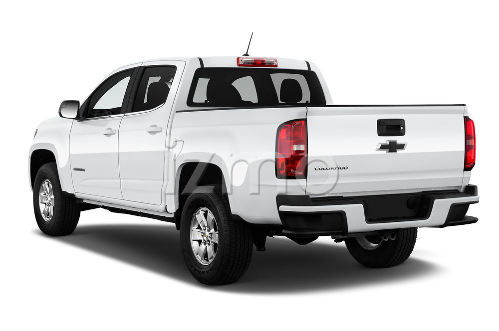 Car pictures of rear three quarter view of 2019 Chevrolet Colorado WT 4 Door Pick-up Angular Rear