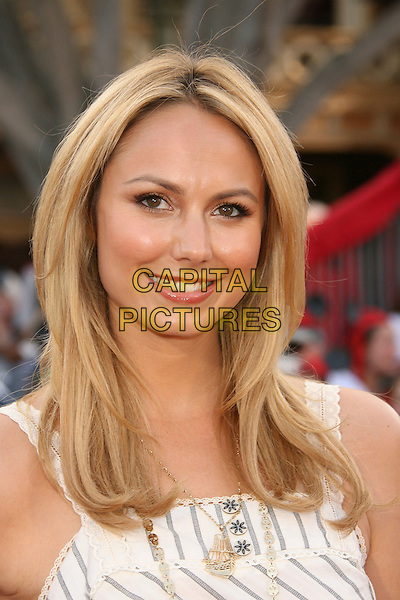 "STACY KEIBLER.""Pirates Of The Caribbean: At World's End"" World Premiere held at Disneyland, Anaheim, California, USA,.May 19th, 007.3 portrait headshot stacey kiebler.CAP/ADM/RE.©Russ Elliot/AdMedia/Capital Pictures"