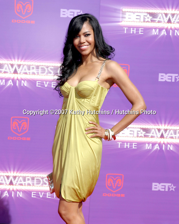 Amerie.BET Awards 2007.Shrine Auditorium.Los Angeles, CA.June 26, 2007.©2007 Kathy Hutchins / Hutchins Photo....