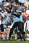 15 November 2014: UNC quarterback Marquise Williams. The University of North Carolina Tar Heels hosted the University of Pittsburgh Panthers at Kenan Memorial Stadium in Chapel Hill, North Carolina in a 2014 NCAA Division I College Football game. UNC won the game 40-35.