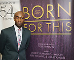 "Donald Webber Jr. backstage after a Song preview performance of the Bebe Winans Broadway Bound Musical ""Born For This"" at Feinstein's 54 Below on November 5, 2018 in New York City."
