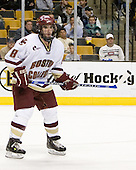 Brett Motherwell (Boston College - St. Charles, IL) - The Boston College Eagles defeated the Harvard University Crimson 3-1 in the first round of the 2007 Beanpot Tournament on Monday, February 5, 2007, at the TD Banknorth Garden in Boston, Massachusetts.  The first Beanpot Tournament was played in December 1952 with the scheduling moved to the first two Mondays of February in its sixth year.  The tournament is played between Boston College, Boston University, Harvard University and Northeastern University with the first round matchups alternating each year.