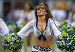 Seattle Sea Gals perform before kick off in a pre-season game against the Tennessee Titans at CenturyLink Field in Seattle, Washington on August 11, 2012. ©2012. Jim Bryant Photo. All Rights Reserved....