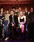 Lindsay Mendez, Krysta Rodriguez, Andy Mientus, George Salazar, Nick Blaemire, Lauren Marcus, Kate Baldwin and Melissa Errico attends the Feinstein's/54 Below Press Preview on October 3, 2018 at Feinstein's/54 Below in New York City.