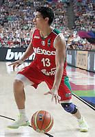 Mexico's Orlando Mendez during 2014 FIBA Basketball World Cup Round of 16 match.September 6,2014.(ALTERPHOTOS/Acero)