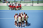 18 MAY 2016:  Tennis takes place at the Gates Tennis Center during the NCAA Division II Spring Sports Festival in Denver, CO. Jamie Schwaberow/NCAA Photos