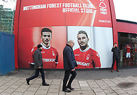 A general view of the City Ground Nottingham,the home of Nottingham Forest Football Club<br /> <br /> Photographer Mick Walker/CameraSport<br /> <br /> The EFL Sky Bet Championship - Nottingham Forest v Preston North End - Saturday 8th December 2018 - The City Ground - Nottingham<br /> <br /> World Copyright © 2018 CameraSport. All rights reserved. 43 Linden Ave. Countesthorpe. Leicester. England. LE8 5PG - Tel: +44 (0) 116 277 4147 - admin@camerasport.com - www.camerasport.com
