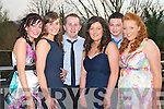 Pictured at the Nurses Ball in the Carlton Hotel, Tralee on Thursday evening, from left: Sinead OConnor, Lucy Stack, Shane Healy, Maire Dineen, Shane ONeill and Leanne Roche..