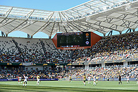 9th November 2019; Bankwest Stadium, Parramatta, New South Wales, Australia; International Womens Friendly Football, Australia versus Chile; a general view of Bankwest Stadium during play - Editorial Use