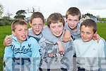 ATHLETES: Competing athletes at the Rock Street/Caherslee community games at Mercy Mounthawk School on Friday l-r: Brian Lynch, Sean Dowling, Conor Scully, Joseph O'Kelly and Ryan Williams all from Mounthawk   Copyright Kerry's Eye 2008