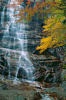 Arethusa Falls<br /> Crawford Notch State Park<br /> White Mountains<br /> Coos County, New Hampshire, New England<br /> New Hampshire,  New England