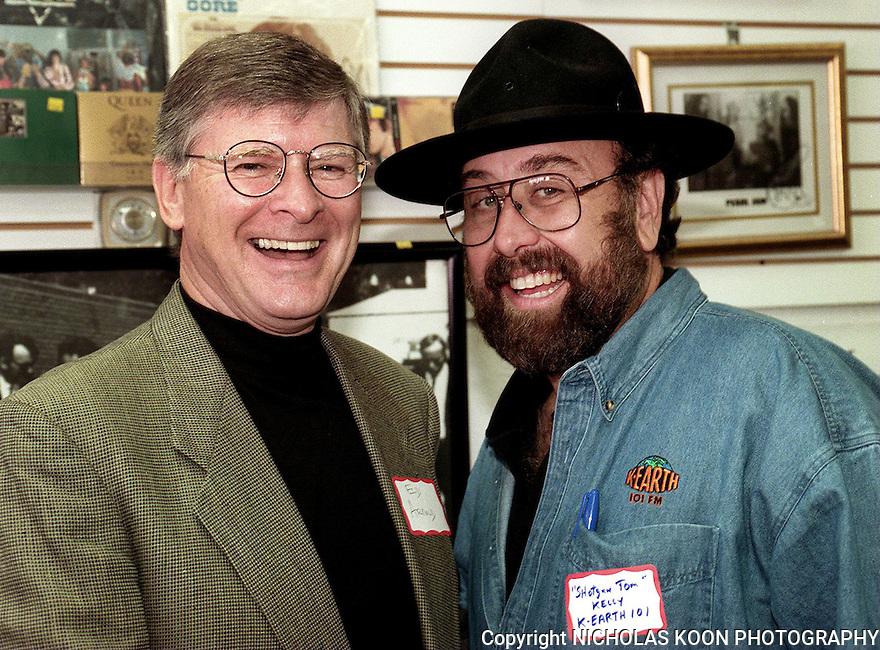 Ed Arnold and 'Shotgun' Tom Kelly