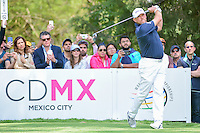 Lee Westwood (GBR) watches his tee shot on 6 during round 4 of the World Golf Championships, Mexico, Club De Golf Chapultepec, Mexico City, Mexico. 3/5/2017.<br /> Picture: Golffile | Ken Murray<br /> <br /> <br /> All photo usage must carry mandatory copyright credit (&copy; Golffile | Ken Murray)