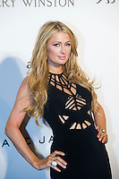 Paris Hilton arrives on the red carpet during the 2015 amfAR Hong Kong gala at Shaw Studios on March 14, 2015 in Hong Kong. Photo : Lucas Schifres/Abaca