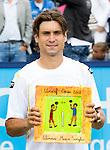 Nederland, Rosmalen, 23 juni 2012.Seizoen 2011/2012.Tennis Unicef open 2012.David Ferrer uit Spanje  wint het Unicef Open 2012