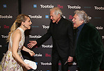 "Annaleigh Ashford, Victor Garber and Harvey Fierstein attends the Broadway Opening Night of ""Tootsie"" at The Marquis Theatre on April 22, 2019  in New York City."