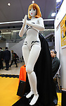"January 16, 2019, Tokyo, Japan - Japanese robot venture Speecys displays a life-sized mannequin robot ""Kosoka Cocona"" which has 37 actuators and make various posing and dancing at an robot exhibition Robodex in Tokyo on Wednesday, January 16, 2019. Some 220 robot companies display their recent products and technlogies at a three-day exhibition.   (Photo by Yoshio Tsunoda/AFLO) LWX -ytd"