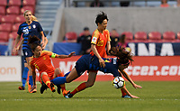 Sandy, Utah - Thursday June 07, 2018: Alex Morgan during an international friendly match between the women's national teams of the United States (USA) and China PR (CHN) at Rio Tinto Stadium.
