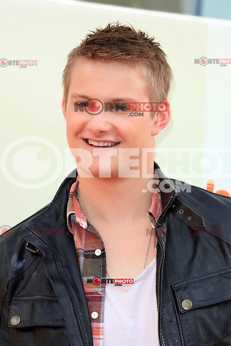 Alexander Ludwig at Nickelodeon's 25th Annual Kids' Choice Awards at The Galen Center on March 31, 2012 in Los Angeles, California. &copy; mpi26/MediaPunch Inc. /NortePhoto<br />